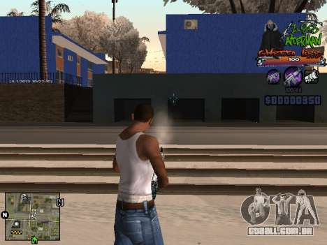 C-HUD Les Alterman para GTA San Andreas terceira tela