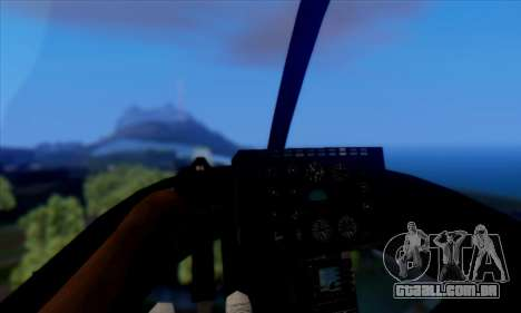 GTA 5 Maverick para GTA San Andreas traseira esquerda vista