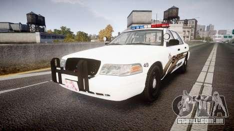Ford Crown Victoria LCSO [ELS] Edge para GTA 4