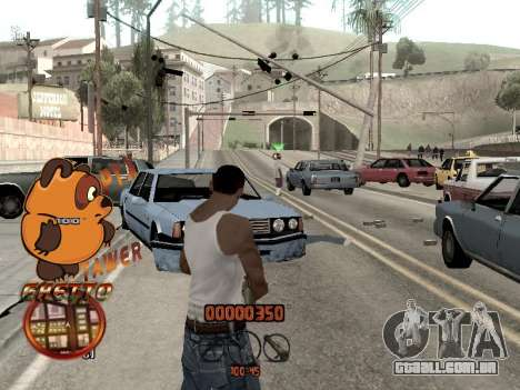C-HUD PYX TAWER GHETTO para GTA San Andreas terceira tela