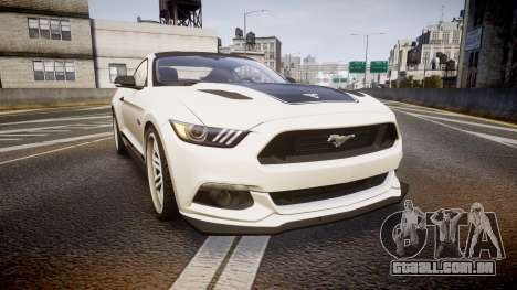 Ford Mustang GT 2015 SPEEDCREED para GTA 4