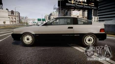 Dinka Blista Compact ST para GTA 4 esquerda vista