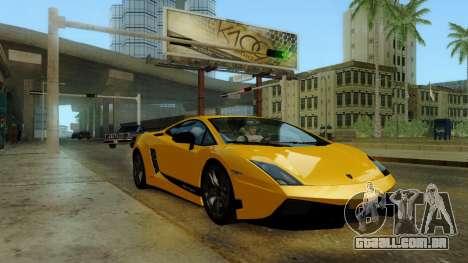 ENB Kenword Try para GTA San Andreas segunda tela