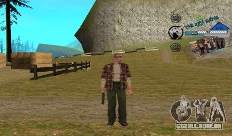 C-HUD Rifa para GTA San Andreas