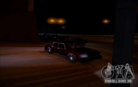 ENBSeries Wade Coronos para GTA San Andreas por diante tela