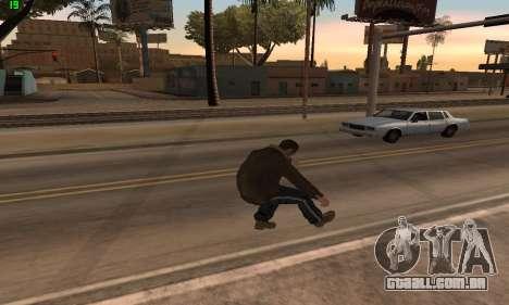 Animações do GTA 4 para GTA San Andreas