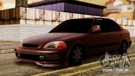 Honda Civic 1.6 para GTA San Andreas