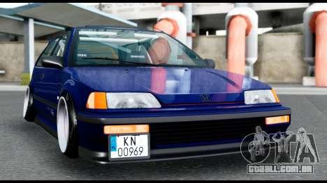 Honda Civic 4gen JDM para GTA San Andreas