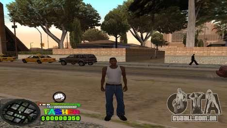 C-HUD Tasher para GTA San Andreas