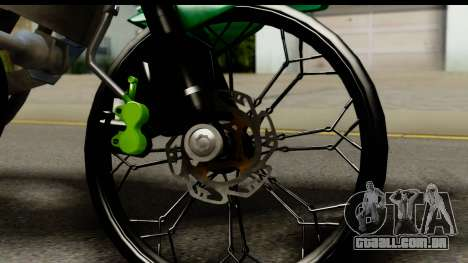 Kawasaki Ninja R Drag para GTA San Andreas