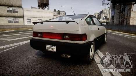 Dinka Blista Compact ST para GTA 4 traseira esquerda vista