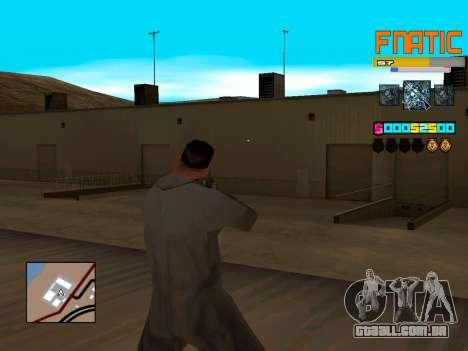 C-HUD Fnatic para GTA San Andreas segunda tela