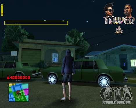 C-HUD Tawer By Flocky para GTA San Andreas segunda tela