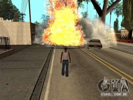 New Realistic Effects 3.0 para GTA San Andreas terceira tela