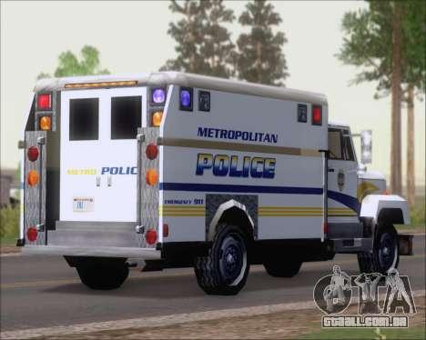 Enforcer Metropolitan Police para GTA San Andreas
