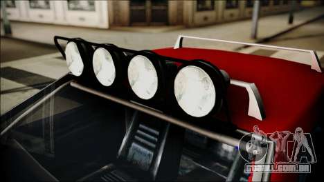 Dirt Elegy Editions para GTA San Andreas vista direita