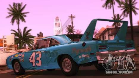 iPrend ENB Series v1.3 Final para GTA San Andreas por diante tela