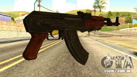 AK47 from Global Ops: Commando Libya para GTA San Andreas segunda tela