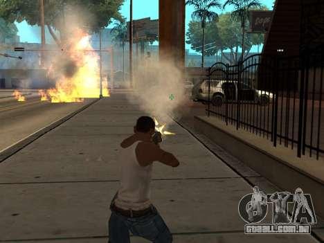 New Realistic Effects 3.0 para GTA San Andreas por diante tela