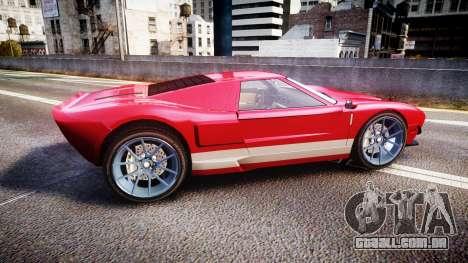 Vapid Bullet 2015 Facelift para GTA 4 esquerda vista