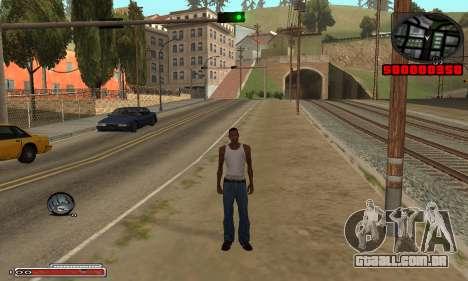 Belo C-HUD para GTA San Andreas