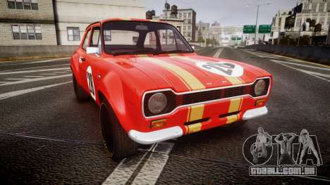 Ford Escort RS1600 PJ28 para GTA 4