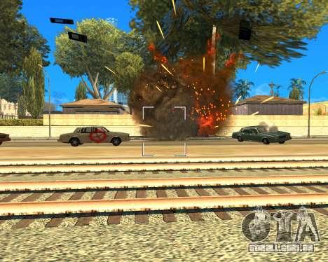 Ledios New Effects para GTA San Andreas terceira tela
