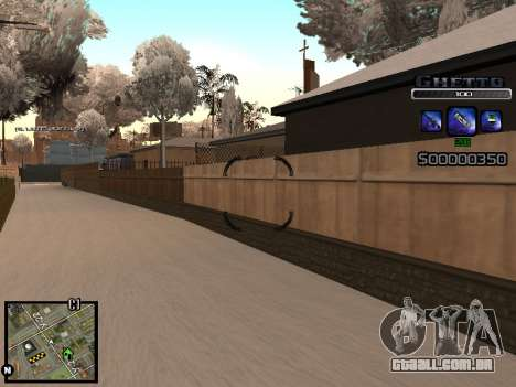 С-HUD DO GUETO para GTA San Andreas