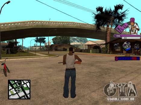 C-HUD TAWER para GTA San Andreas terceira tela