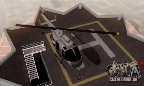 GTA 5 Maverick para GTA San Andreas vista direita