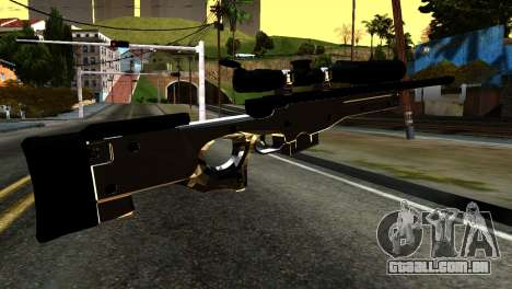 New Sniper Rifle para GTA San Andreas segunda tela