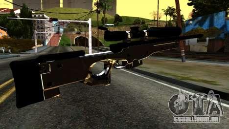 New Sniper Rifle para GTA San Andreas segunda tela