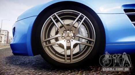 Mersedes-Benz SLS AMG 2010 para GTA 4 vista de volta