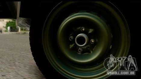VAZ 2107 de Fluxo para GTA San Andreas vista direita