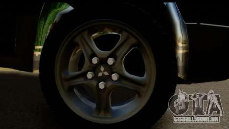 Mitsubishi Outlander para GTA San Andreas vista direita