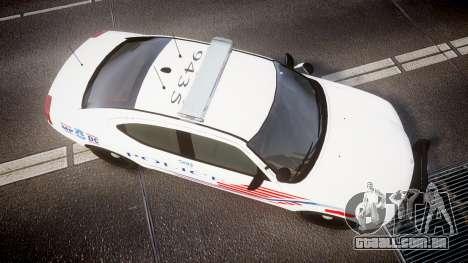 Dodge Charger Metropolitan Police [ELS] para GTA 4 vista direita