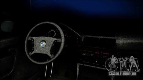 BMW M5 E34 Wagon para GTA San Andreas vista direita