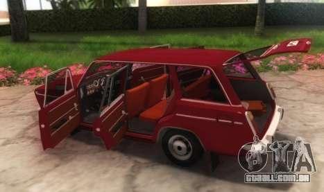 VAZ-21032 v2.0 para GTA San Andreas vista traseira
