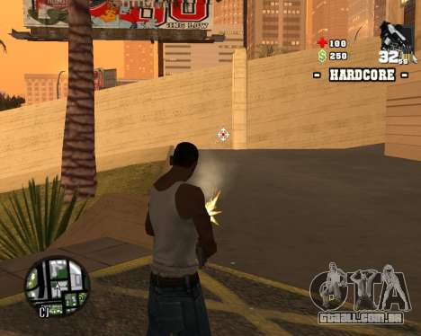 C-HUD Hardcore para GTA San Andreas terceira tela