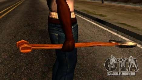 Shovel from Redneck Kentucky para GTA San Andreas terceira tela