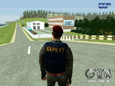 O Capataz Da Águia para GTA San Andreas terceira tela