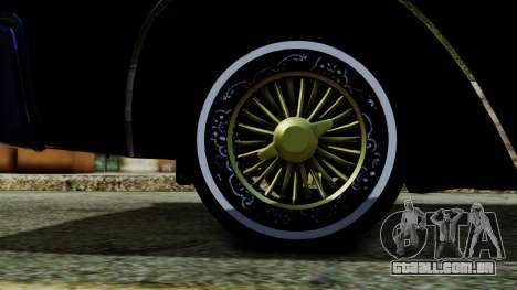 Lincoln Continental para GTA San Andreas traseira esquerda vista