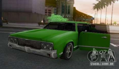 Sabre Limousine para GTA San Andreas vista traseira