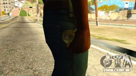 Grenade from Global Ops: Commando Libya para GTA San Andreas terceira tela