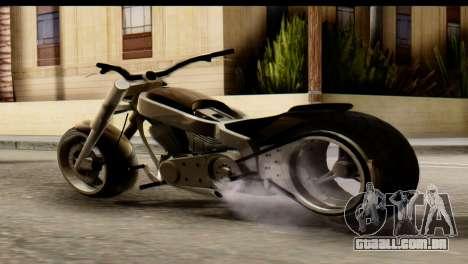 Innovation GTA 5 para GTA San Andreas esquerda vista