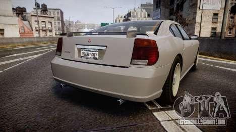 Bravado FBI Buffalo Restyling para GTA 4 traseira esquerda vista