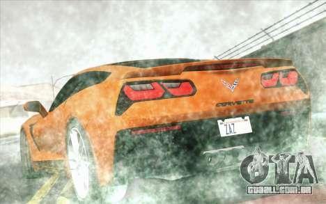 LoFPS ENB para GTA San Andreas por diante tela