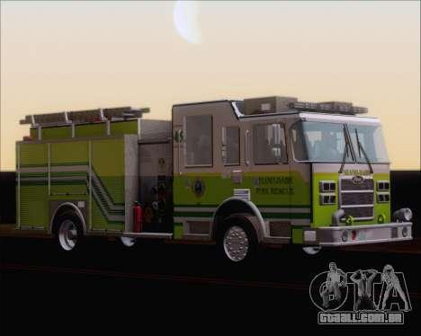 Pierce Arrow XT Miami Dade FD Engine 45 para GTA San Andreas esquerda vista