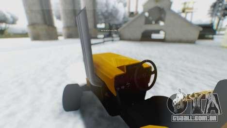 Tractor Kor4 para GTA San Andreas esquerda vista