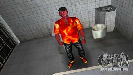 Devil Skin para GTA Vice City por diante tela